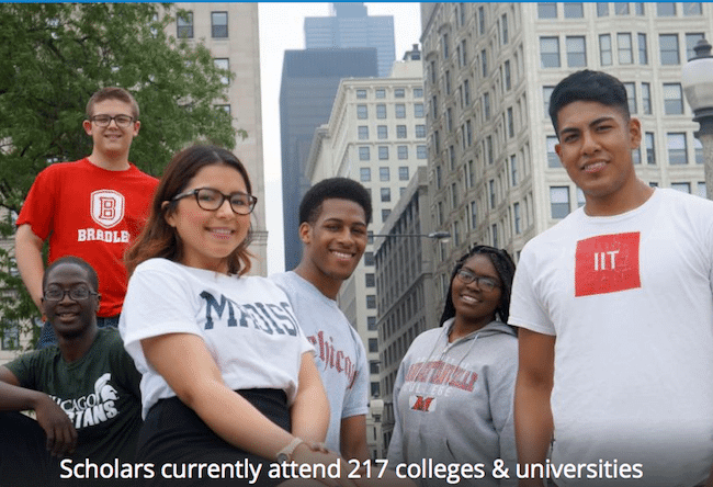 chicago scholars foundation