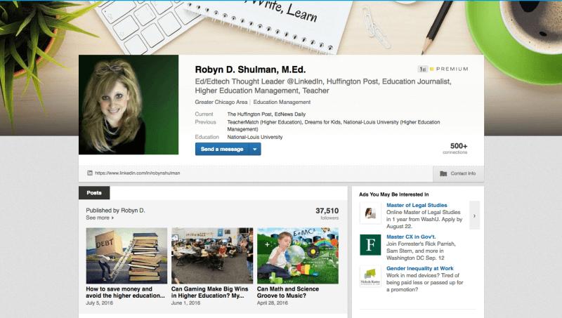 Robyn D. Shulman, M.Ed.  LinkedIn