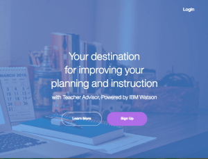 IBM third grade teachers watson