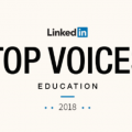 linkedin top voice education