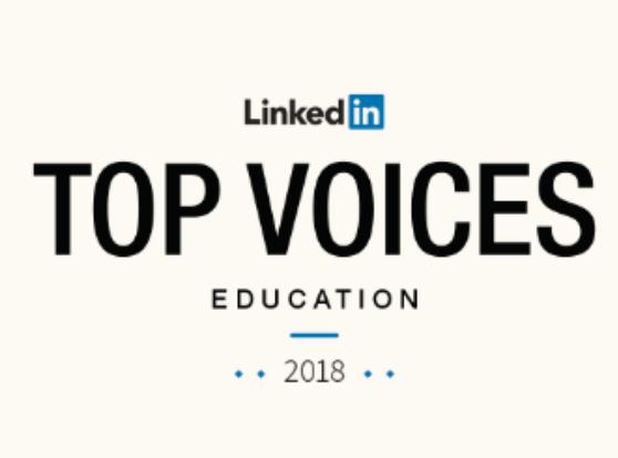 linkedin top voice education