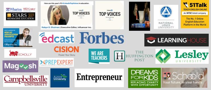 education blog advertising